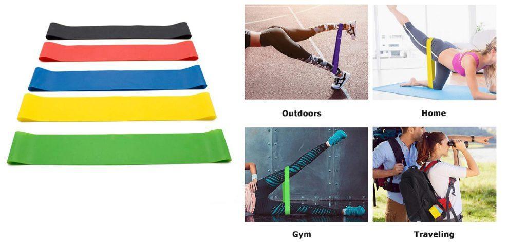 Резиновые ленты для фитнеса